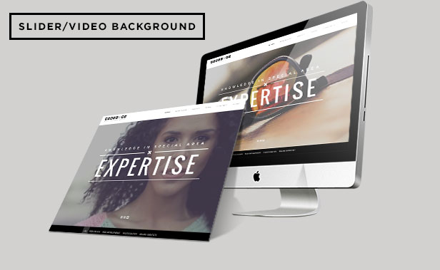 Gedebvge - Responsive One Page Portfolio Template