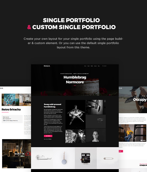 bagja - responsive multi concept & one page portfolio theme (portfolio) Bagja – Responsive Multi Concept & One Page Portfolio Theme (Portfolio) bagjademo5